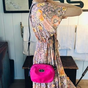 ♥️ Kate Spade ♥️ Pink Nylon Crossbody Bag